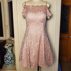 Celeb Boutique Dresses | Reduced Hot Pink Nude Dress